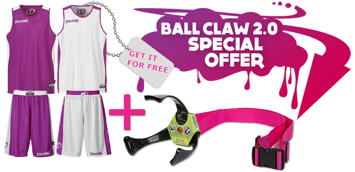 MEGA DEAL SPALDING + BALL CLAW 2.0 STRAP